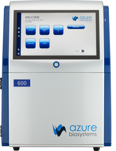 Azure 600: NIR, RGB, Chemi, Blue light, White light, UV | Azure Biosystems