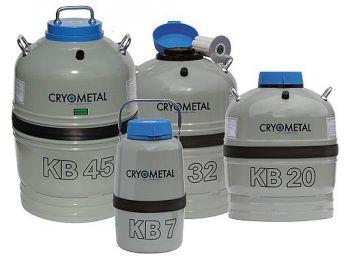 Pro transport v kapalném dusíku - serie KB | Cryometal