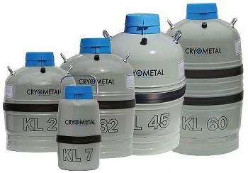 Zásobník na kapalný dusík - serie KL | Cryometal