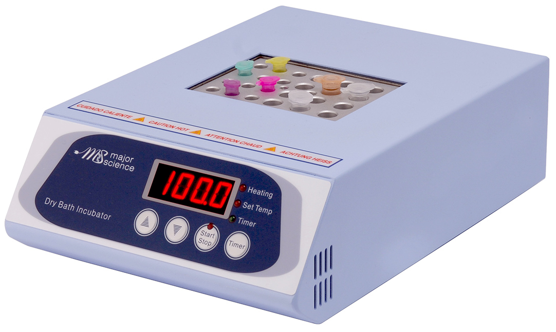 Genius Dry Bath inkubátor pro jeden blok (bez bloku) | Major Science