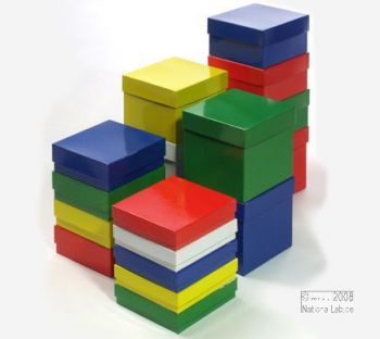 Alpha box_Papírové krabičky | National Lab