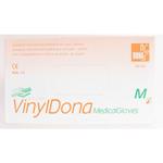 Vinyl.  vyšetřovací rukavice, bezprašné, nesterilní