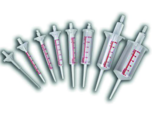 Stříkačky k dávkovačům